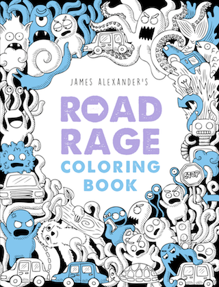Road Rage Coloring Book
